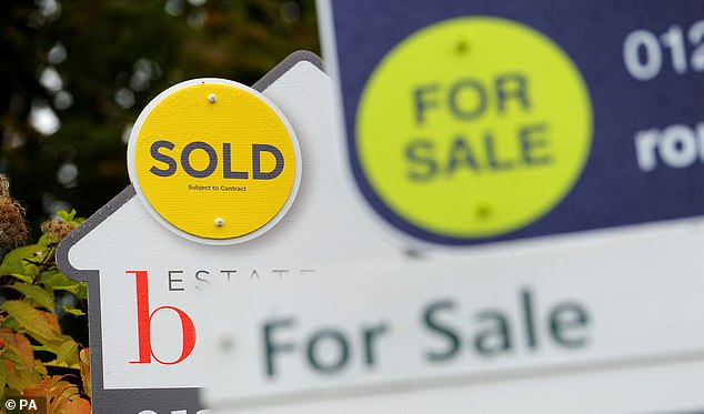 Annual house price growth remains below 1% for the eighth successive month, says Nationwide