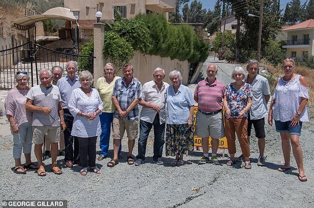 Sunshine dream in ruins: Britons' homes destroyed in Cyprus landslides