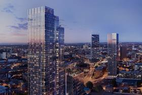 Maslow funds resi skyscrapers in Manchester